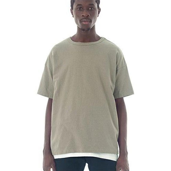 "Sandinista ""Easy Fit Slit Tee"" (カーキ)"