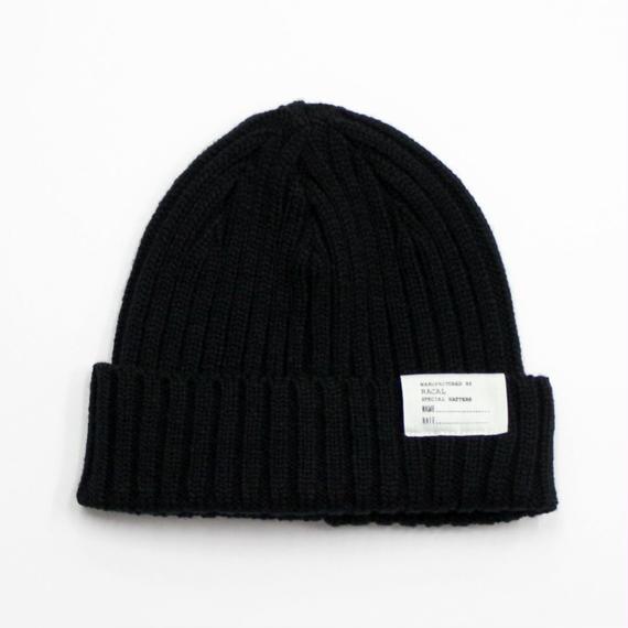 """RACAL """"Standard Knit CAP"""" (ブラック)"""