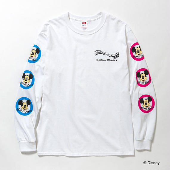 "VOTE MAKE NEW CLOTHES ""MICKEY MOUSE CLUB L/STEE""(ホワイト)"