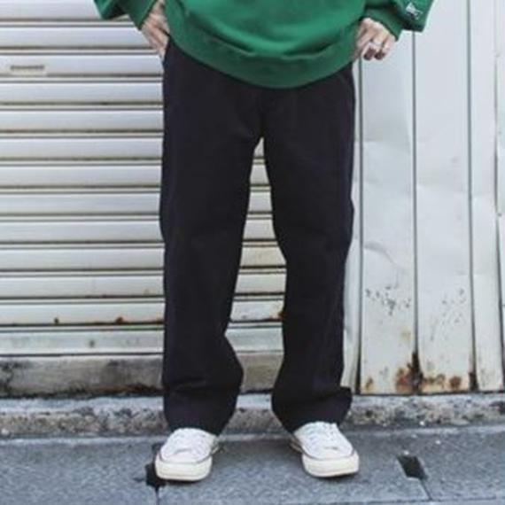 "Sandinista ""B.C. Chino Pants - Wide"" (ブラック)"