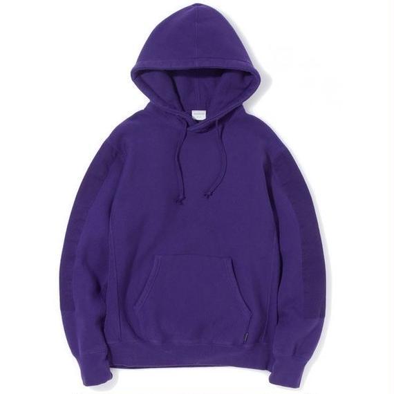 "Sandinista ""Overdyed Military Hooded Sweatshirt"" (パープル)"