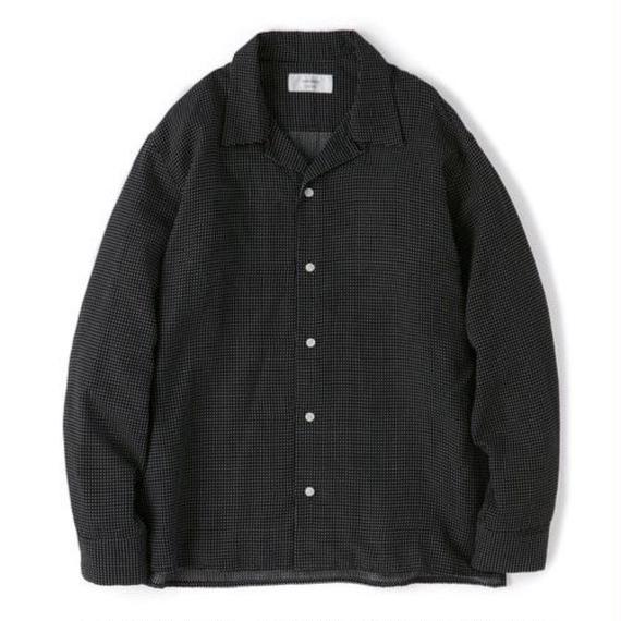 "Sandinista ""Rayon Stitched Cross Shirts"" (ブラック)"