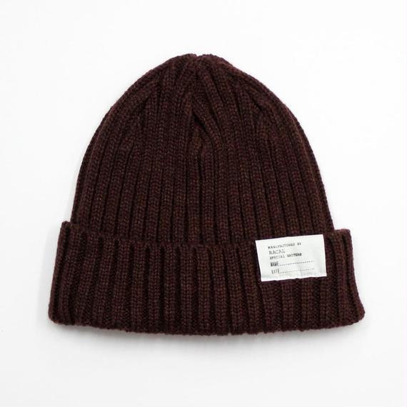 "RACAL ""Standard Knit CAP"" (ブラウン)"