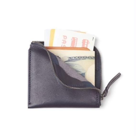 "SANDINISTA ""Superior Leather Compact Wallet"" (ネイビー)"