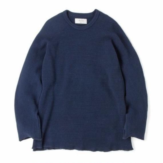 "Sandinista ""Easy Fit Thermal Dolman-Sleeve Top"" (インディゴブルー)"