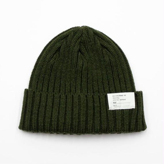 """RACAL """"Standard Knit CAP"""" (ダークグリーン)"""