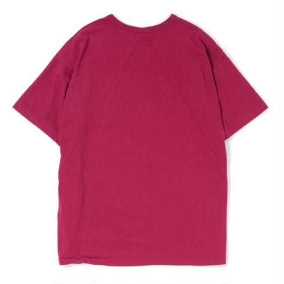 """Sandinista """"Easy Fit Triangle Cut Tee"""" (ワイン)"""