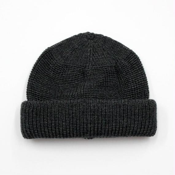 "RACAL ""SK8 Knit CAP"" (チャコールグレー)"