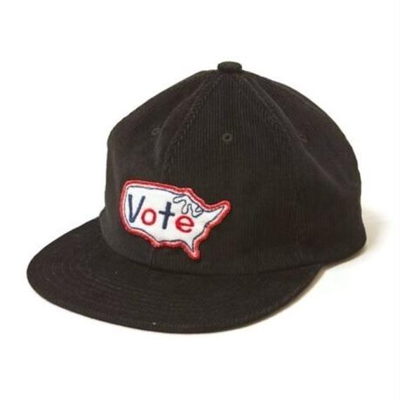 """VOTE MAKE NEW CLOTHES """"VOTE USA CAP"""" (ブラック)"""