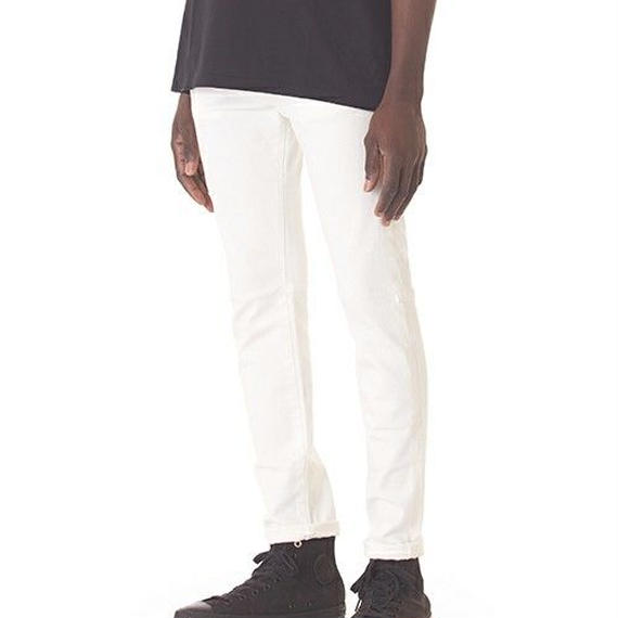 "Sandinista ""B.C. White Stretch Denim Pants - Skinny"""