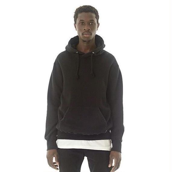 "Sandinista ""Overdyed Hooded Sweatshirt"" (ブラック)"