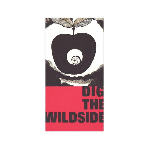 ウェルモ ポストカード DIG THE WILDSIDE(red)