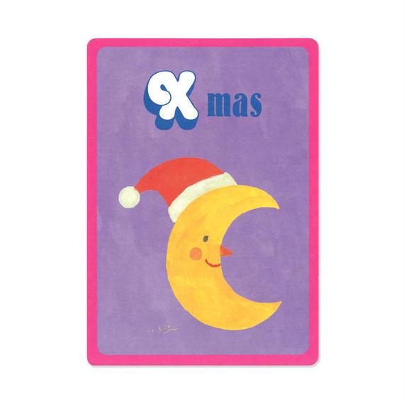 クリスマスカード『MOTIF 』(moon)