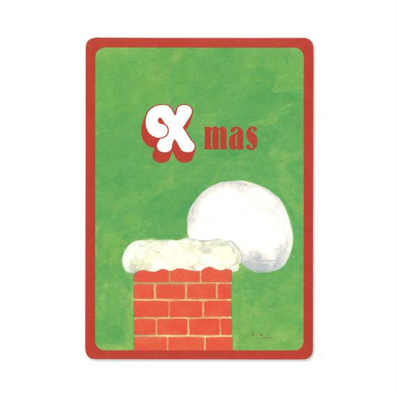 クリスマスカード『MOTIF 』(chimney)