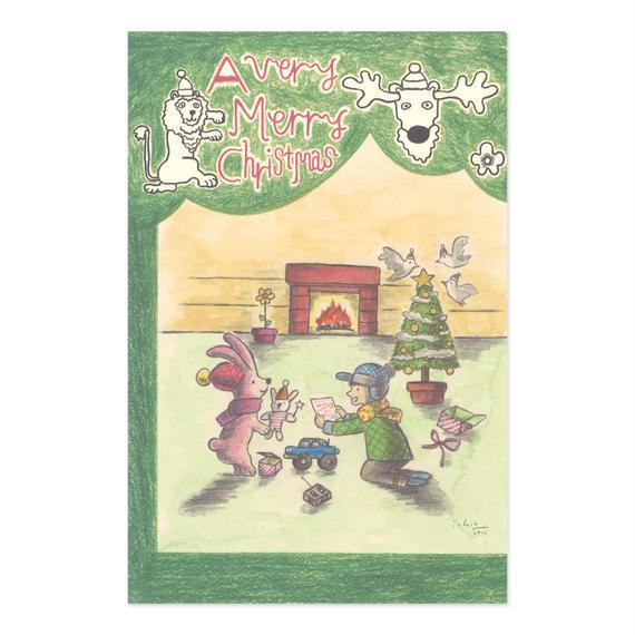 クリスマスカード『ROOM』