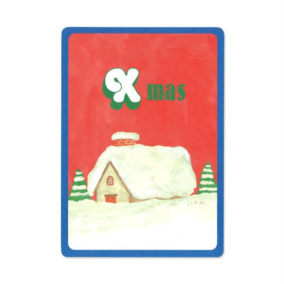 クリスマスカード『MOTIF 』(house)