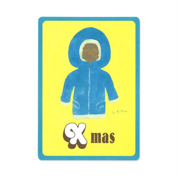 クリスマスカード『MOTIF 』(parka)