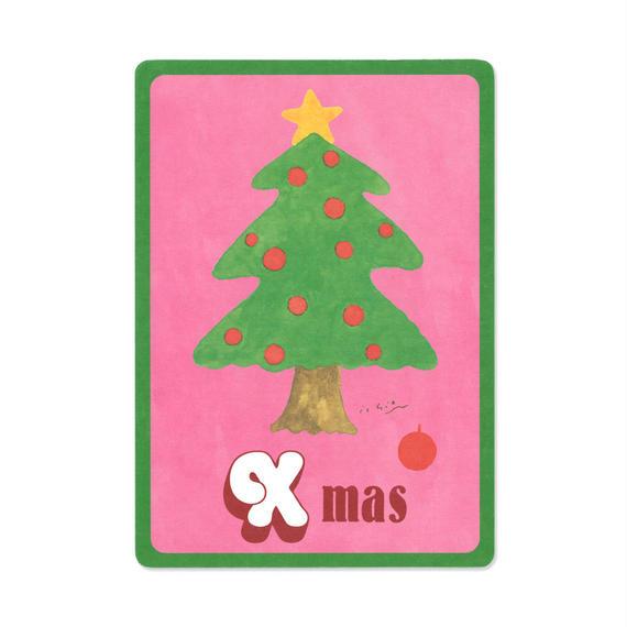 クリスマスカード『MOTIF 』(tree)