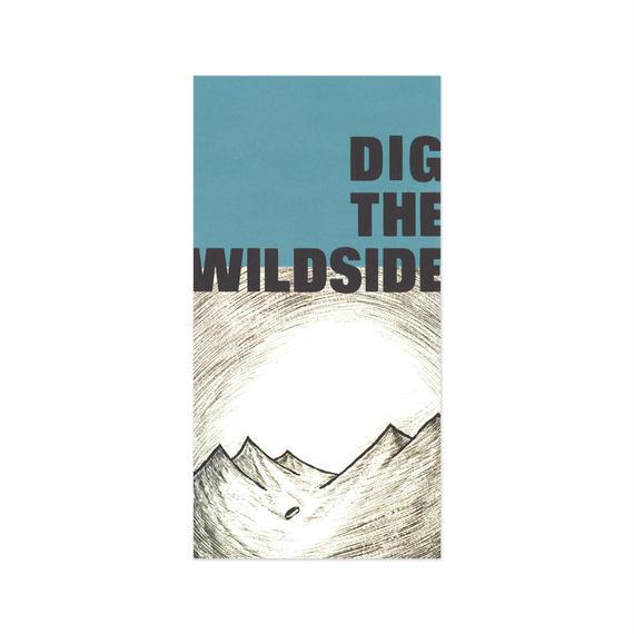 ウェルモ ポストカード DIG THE WILDSIDE(blue)