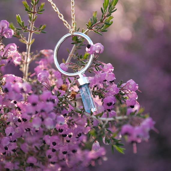 ring (silver_sky blue topaz) [受注制作]