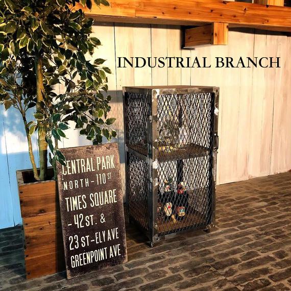 男前な西海岸 ヴィンテージ ディスプレイシェルフ 棚ミッドセンチュリーデザイン 店舗什器(SH23)