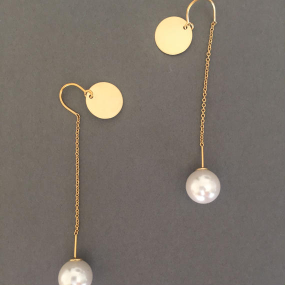 Round plate&pearl