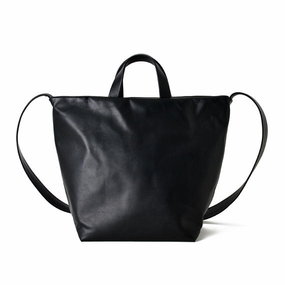 LE38 / COW KIP LEATHER  SHOULDER TOTE S