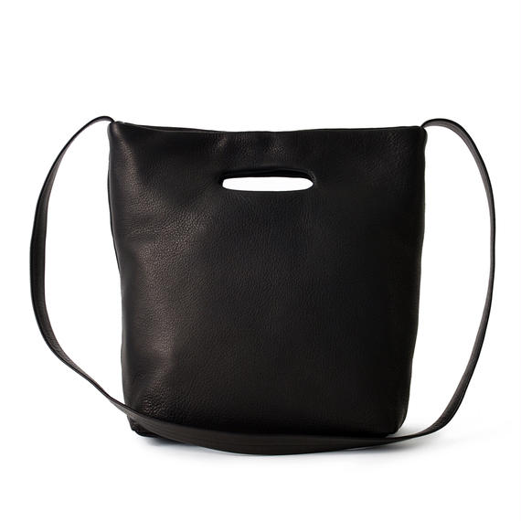 DA03 / DEER LEATHER SHOULDER TOTE S