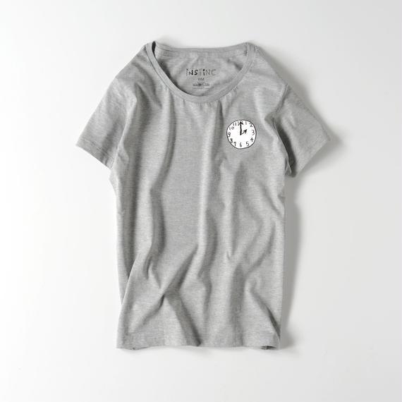 NIJI ライトウェイトTシャツ(レディース グレー・ブラック S/M/L)