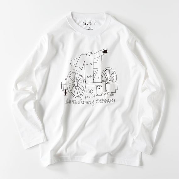 SATSUMA アームストロング砲 ロングスリーブTシャツ (4color S/M/L/XL/XXL)