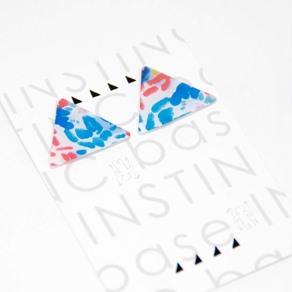 トライアングル INK(ピアス・イヤリング)