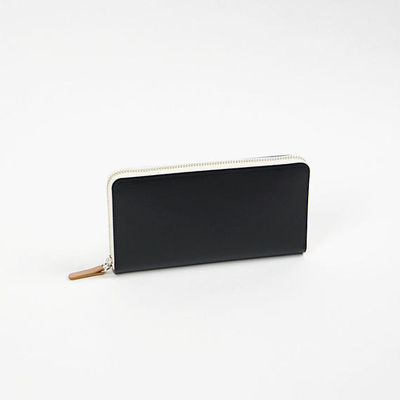 "pop-up long wallet   BLACK&NUDE  ""Limited Color"""