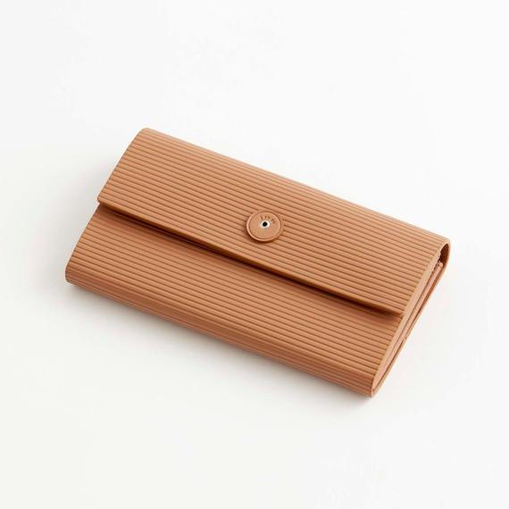 cardboard long wallet(l.brown / gray / black)