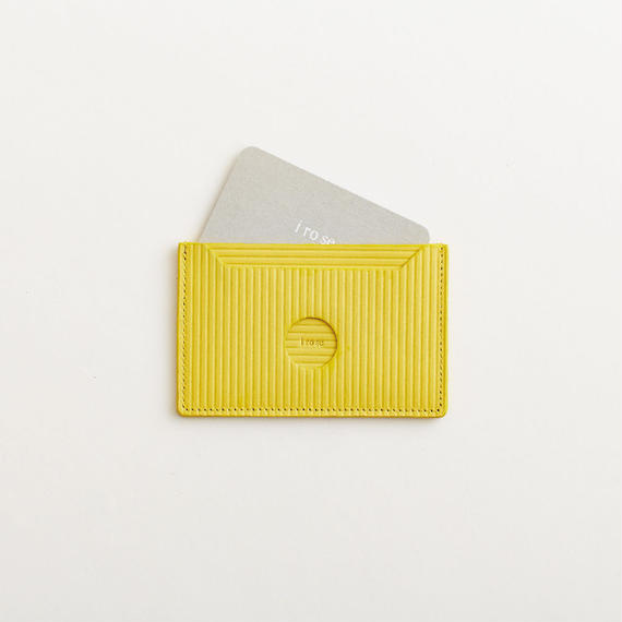 cardboard pass case   ( yellow )  数量限定カラー