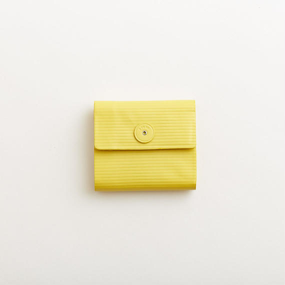 cardboard mini wallet  ( yellow )  数量限定カラー