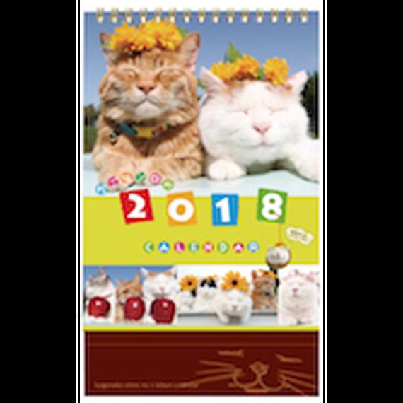 2018カレンダー【卓上】