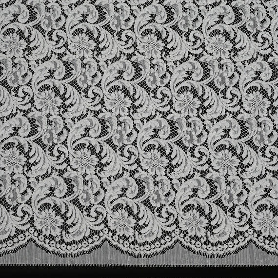French Leavers Lace 70964.1/85  PALE GREEN
