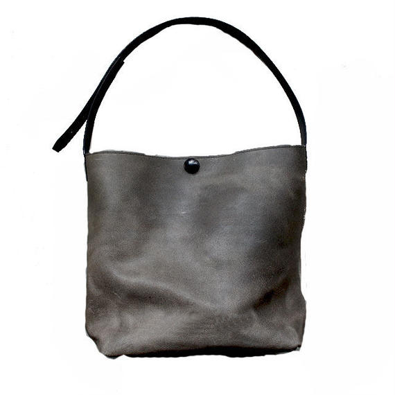 Tote bag S/Olive gray Mirror finish ドイツホックタイプ