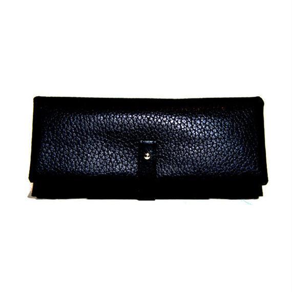 Shrink long wallet/Black