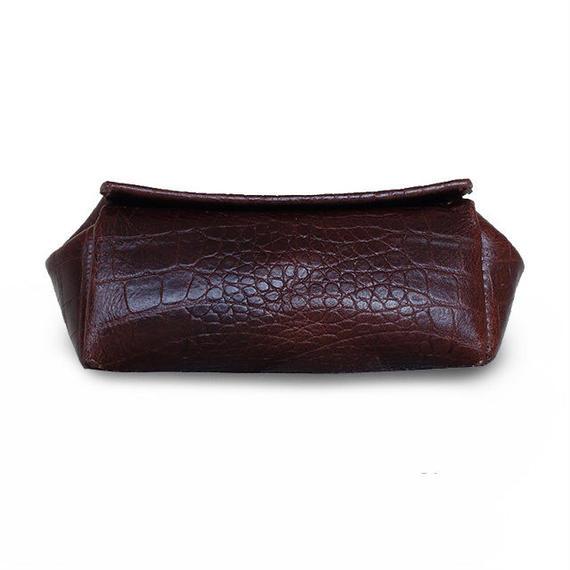 MOCOPO-S/Split leather/クロコダイル 型押し