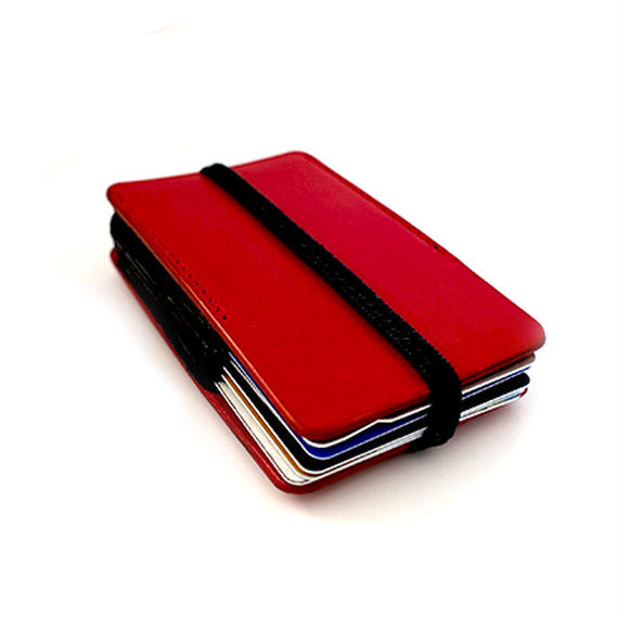 Rubber card case/red(カードケース)