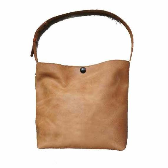 Tote bag S/Brown Mirror finish /ドイツホックタイプ