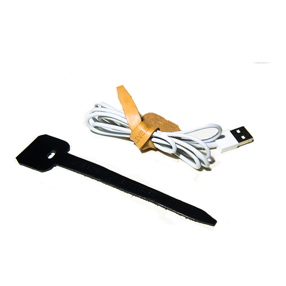 Leather Mobile Cable holder