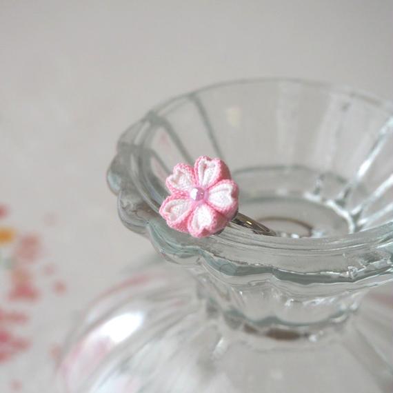 桜ピンキーリング