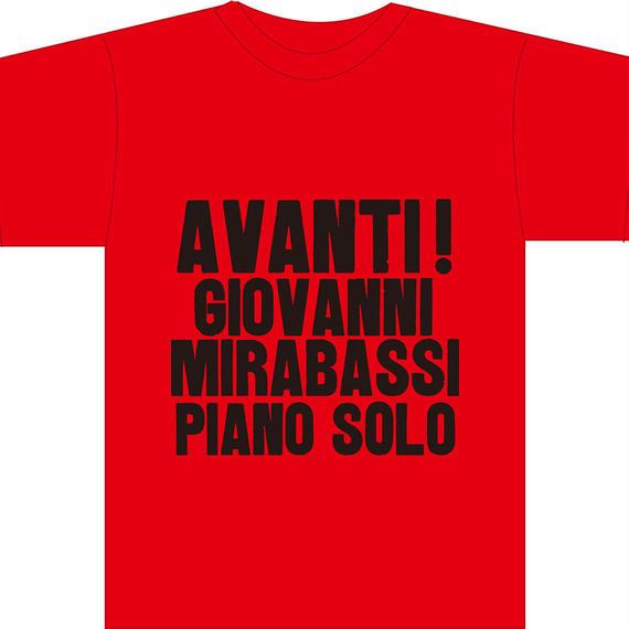 STS003 AVANTI! Red T-Shirts