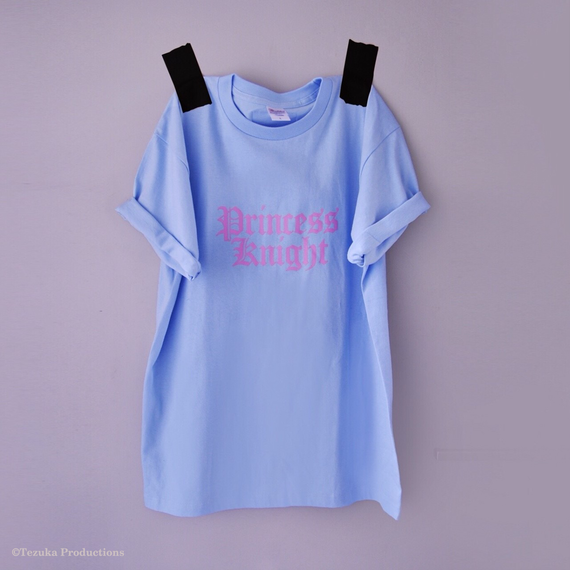 PrincessKnight T-shirts<BLUE>