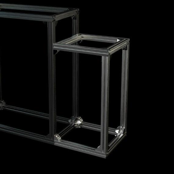 Jigsoma Aqua stand SIDE ジグソーマ アクアスタンド サイド W310×D30×H560