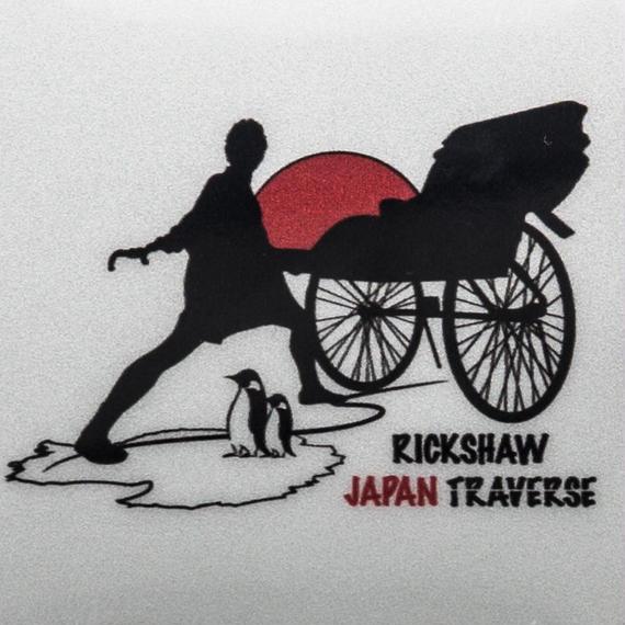 【リキシャ ジャパントラバース】リフレクターステッカー