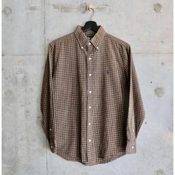 Ralph Lauren Check B.D. Shirt
