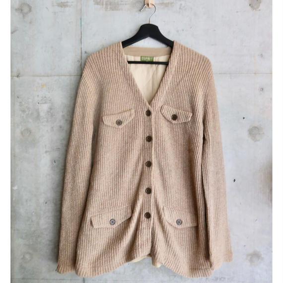 Vintage ESPRIT Wide Wale Corduroy Design Knit